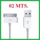 CABLE USB CALIDAD OEM EXTRA LARGO (2 MT)